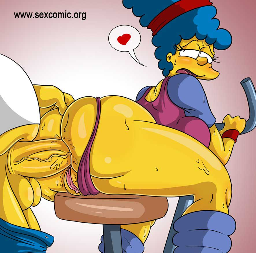 Porn marge simpson anal