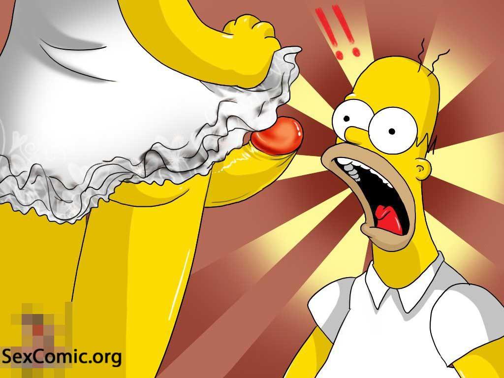 Marge y Homero Simson Teniendo Relaciones -los-simpsons-xxx-porno-imagenes-cogiendo-follando-marge-desnuda-video (4)