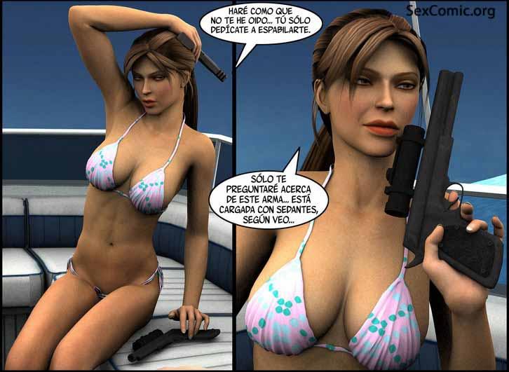 Lara Croft XXX - porno xxx -folladas - penetradas - porno hentai - manga para adultos (14)