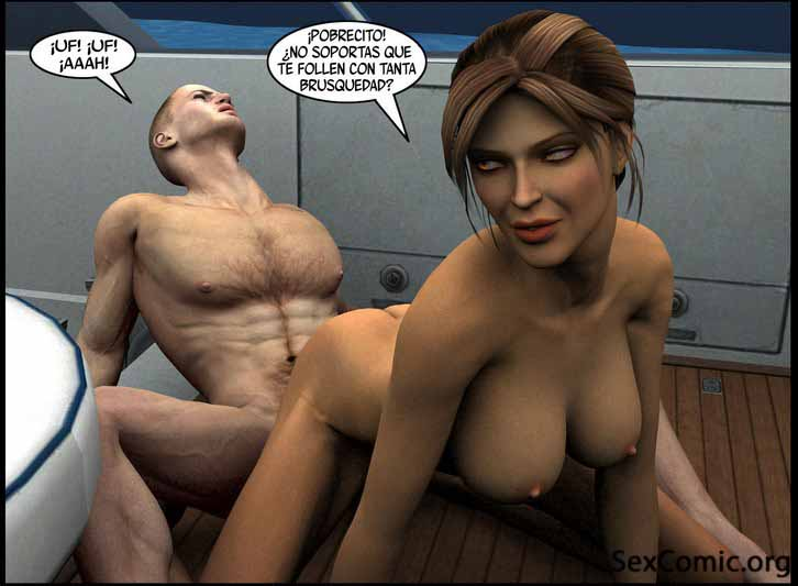 Lara Croft XXX - porno xxx -folladas - penetradas - porno hentai - manga para adultos (24)