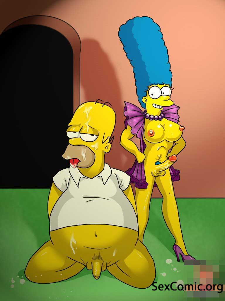 Marge y Homero Simson Teniendo Relaciones -los-simpsons-xxx-porno-imagenes-cogiendo-follando-marge-desnuda-video (11)